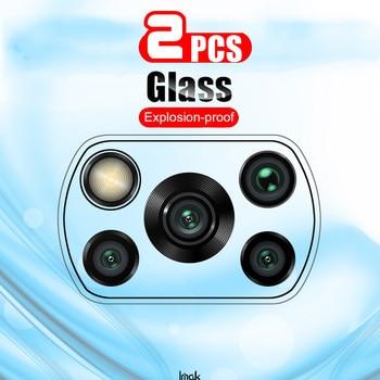 2pack Glass Camera For Xiaomi Poco X3 NFC Glass Camera Lens Screen Protectors On Xiami Poco X3 PocoX3 Xiao X3nfc tempered Film