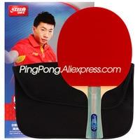 DHS 5-Star Table Tennis Racket (5002  5006) with Rubber Skyline / Hurricane / Bag Set Original DHS Ping Pong Bat