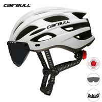 Capacete de bicicleta airbull 2019  capacete de ciclismo de estrada e de montanha  óculos de proteção para o sol grande