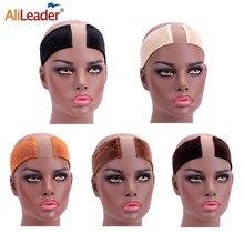 Alileader, горячая Распродажа, зажим для парика, головной убор, кружева, строчка, ручки, регулируемые крепежи, зажим для парика, повязка на голову,...
