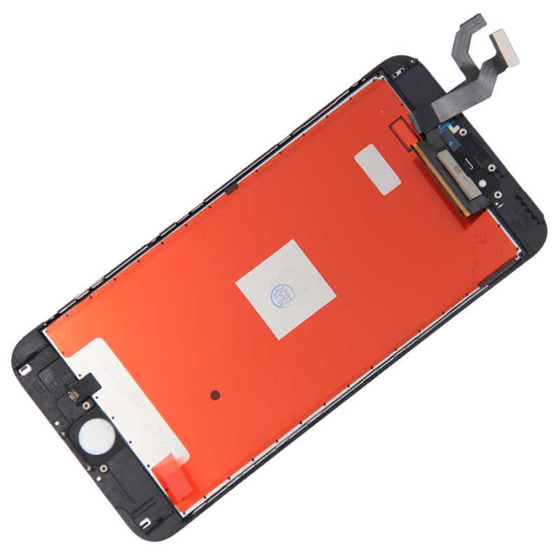 شاشة إل سي دي مثالية ثلاثية الأبعاد تعمل باللمس ، فئةaaaa, لأيفون 6 ، 6S ، 6 بلس ، 6S بلس ، مجموعة محوِّل رقمي لشاشة أيفون 6S ، 7 ، 8