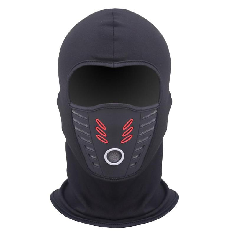 Winter Windproof Motorcycle Mask Polar Fleece Neck Warmer Thermal Balaclava Full Face Shield