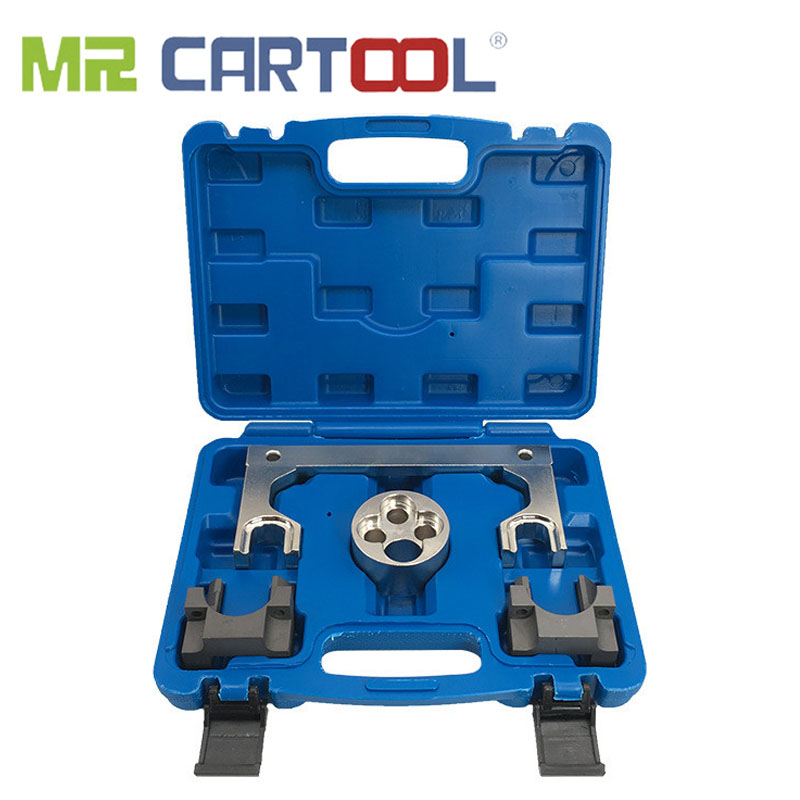 MR CARTOOL Car Timing Belt Tool For Mercedes-Benz M651 1.8 2.1L Diesel Engine Timing Maintenance Dedicated Camshaft Holder Tool