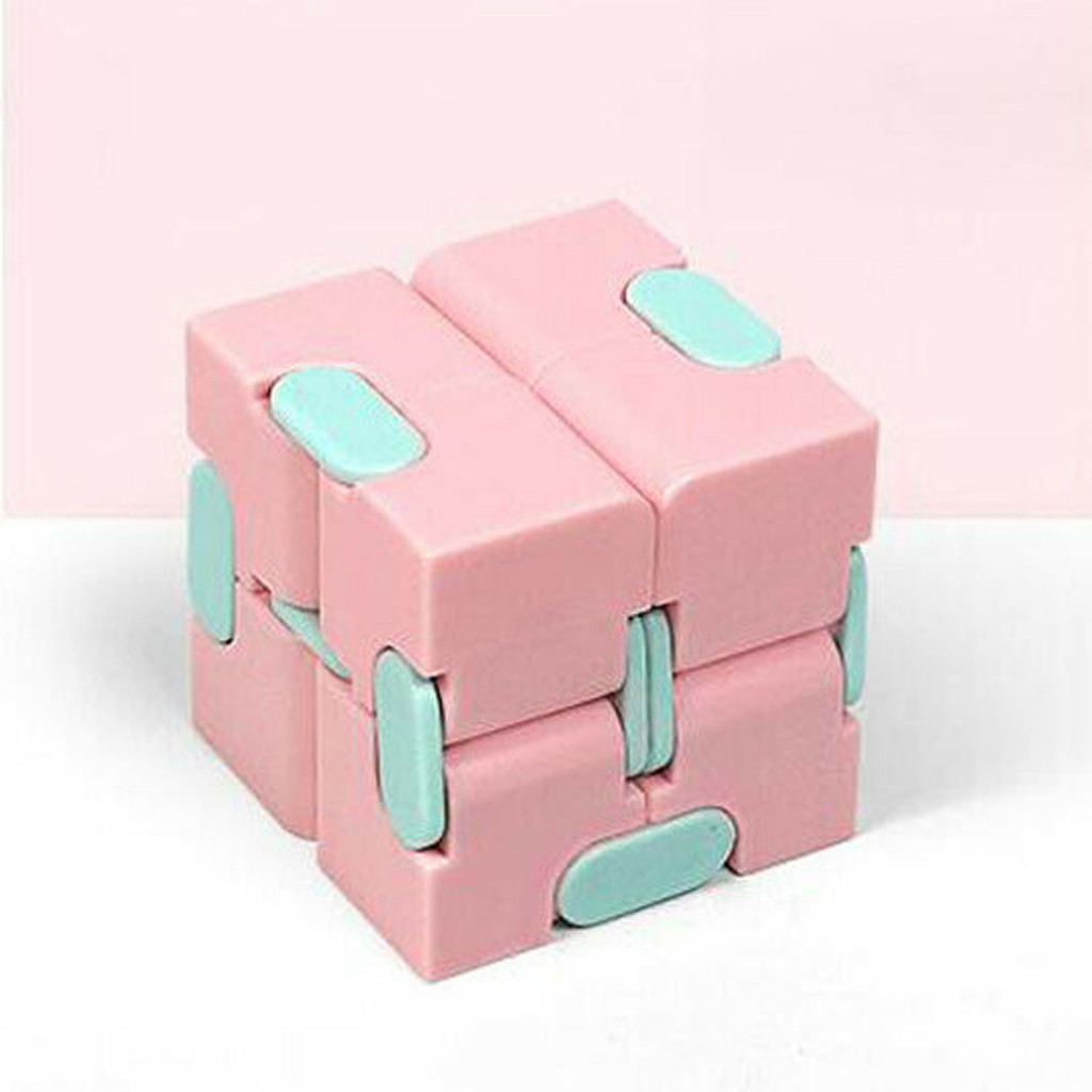 Decompression Toy Maze Magic Cube Hand-Game Square Relieve-Stress Funny Four-Corner Infinity img4