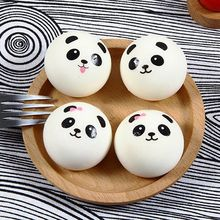 1pc Squishy Venting Ball Joke Toy Simulation Silicone PU Cartoon Panda Squeeze Squishies Toys
