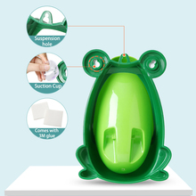 Frog Baby Potty Toilet Urinal Kids Potty training Baby Boys Pee Toilet infant Bathroom Wall-Mounted Urinal girls Travel Potty portable emergency urinal toilet potty for baby child kids car travel camping and toddler pee pee training cup for boys girls