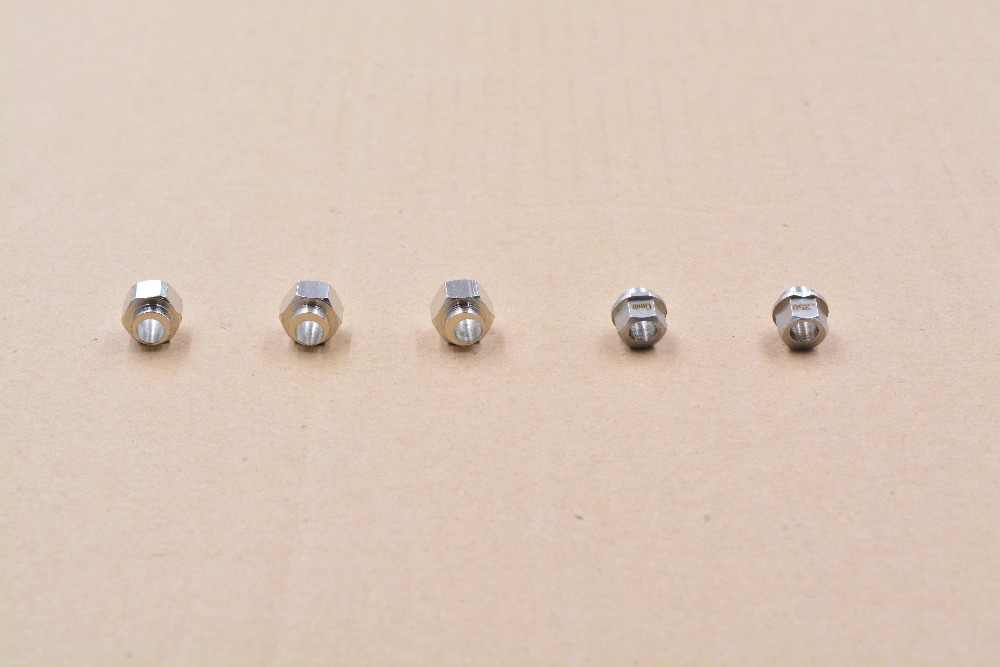 3D drucker openbuilds exzentrische spalte isolation aluminium profil mutter hexagonal bohrung 5mm höhe 6mm 6,35mm V slot