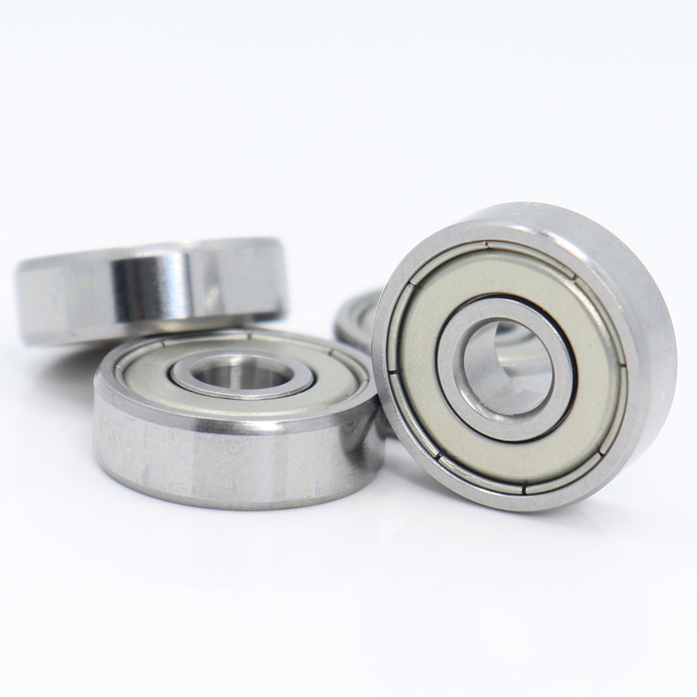 10Pcs 626 Steel Ball Bearing <font><b>626ZZ</b></font> 6x19x6 mm Grade P5 Printer Parts 626 ZZ Bearings 626Z For Hinge Closet image