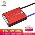 3 7 V Li-ion17S 60V 30A 40A 50A 60A 18650 PCM плата защиты батареи BMS PCM со сбалансированным литиево-ионным литиевым модулем