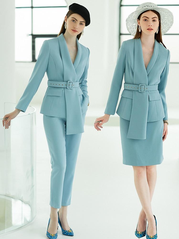 1 woman suit