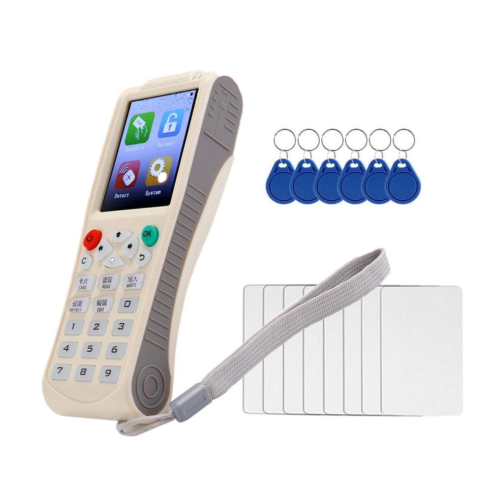 Newest iCopy8 with Full Decode Function Smart Card Key Copy 8 RFID Copier Duplicator English Version
