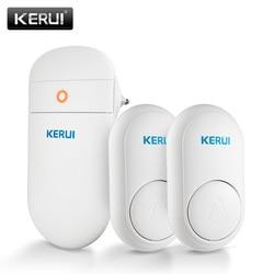 KERUI M518 беспроводной дверной звонок самостоятельное производство электроэнергии Домашняя безопасность Добро пожаловать умный дверной звон...