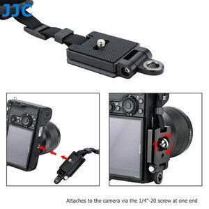 Image 3 - JJC ayarlanabilir hızlı bırakma el ve bilek kayışı Canon Nikon Sony için Fujifilm Olympus Pentax Panasonic tutar lensli fotoğraf makineleri