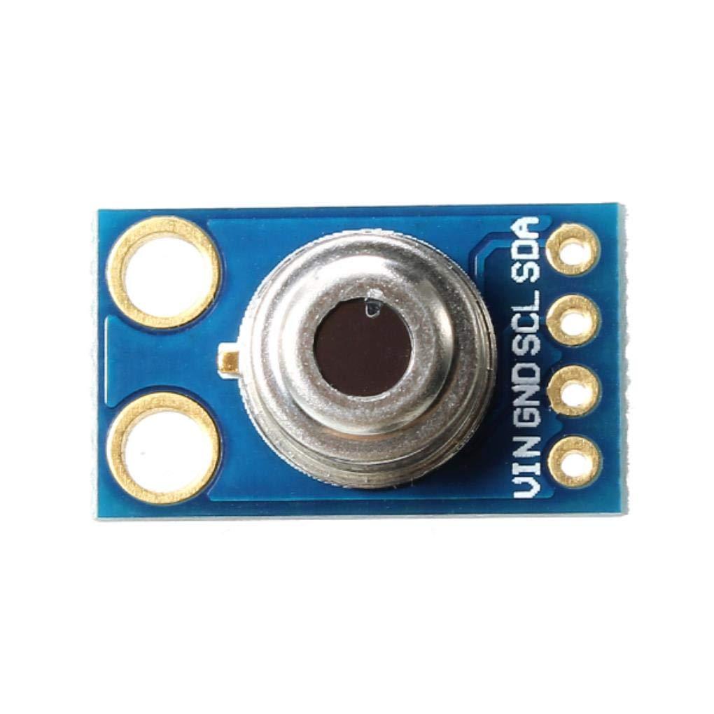 Shenzhen Inductance 19.38*11.2mm Gy-906 Mlx90614 Receiver Module 5v Digital Infrared Sauna Temperature Sensor
