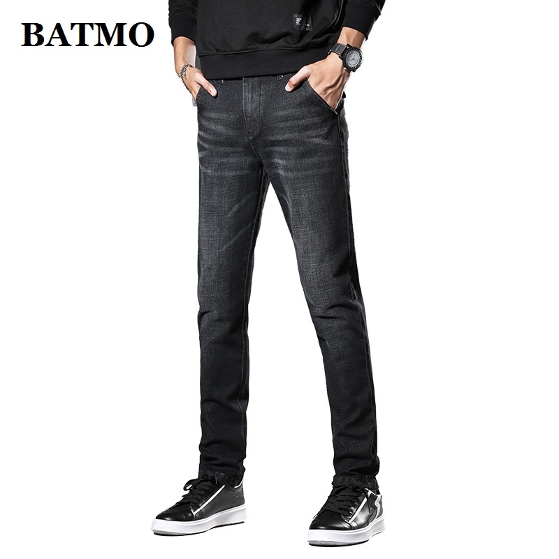 Batmo 2019 New Arrival High Quality Casual Slim Jeans Men ,men's Pencil Pants,skinny Jeans Men 1061