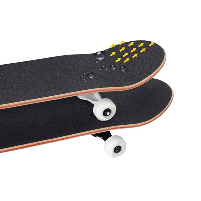 Professional Skateboard Deck Sandpaper Grip Tape Skating Board Longboard Sandpaper Griptape Skating Board Sticker