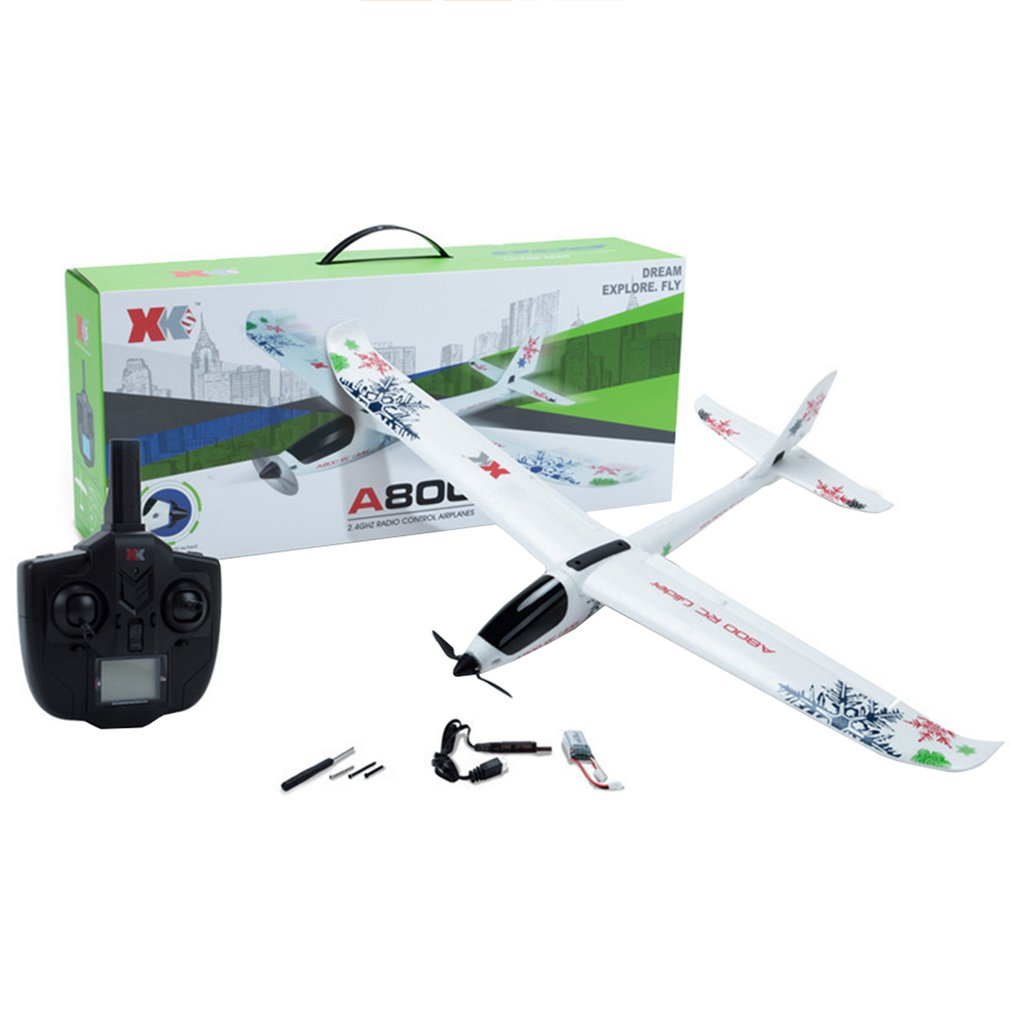 Drone A800 5Ch 3D6G System Plane Rc Airplane New Quadcopter Fixed Wing Drone Model Toy Children Gift