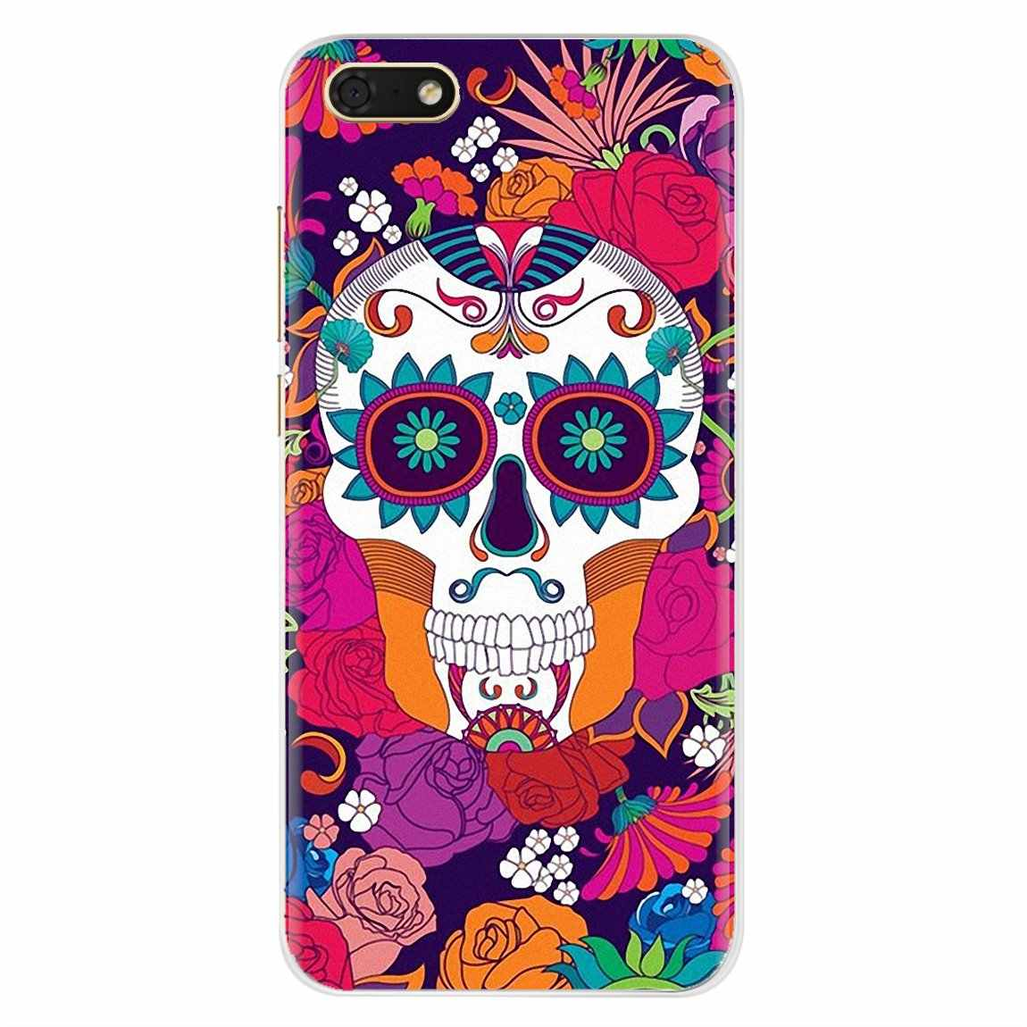 For Xiaomi Redmi 4A S2 Note 3 3S 4 4X 5 Plus 6 7 6A Pro Pocophone F1 catrina girl Flower Personalized Silicone Phone Case