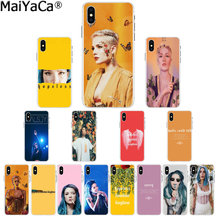MaiYaCa Halsey Hopeless Fountain Kingdom Transparent Cell Phone Case for iPhone X XS MAX 6 6s 7 7plus 8 8Plus 5 5S SE XR(China)