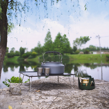Picnic Table Camping-Accessory Shine Trip Outdoor Desk Ultralight for Family