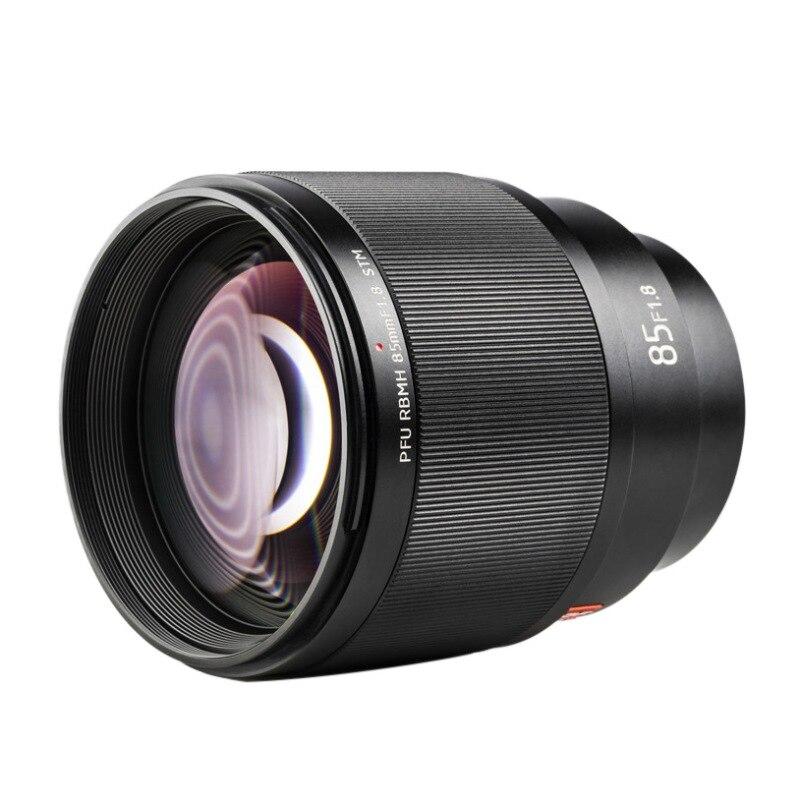 Viltrox 85mm F1.8 objectif de caméra professionnel avec support AF en métal pare-soleil à mise au point automatique pour appareil photo Sony
