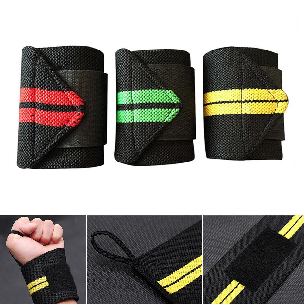 1 шт. желтые обертывания для рук, защита запястья, пояс для тяжелой атлетики, повязка красного цвета для кроссфита, бодибилдинга, пауэрлифтинга, поддерживающий ремень, цвет