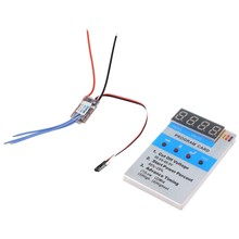 XC-10A RC Car Mini-Q Mini-Z Car Brushless ESC 10A 1-2S 8G Electronic Speed Controller & ESC New Program Card(China)