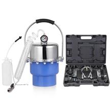 Compressed Air Brake Bleeder Kit Pneumatic Brake Oil Changer Bleeder Automobile Hydraulic Brake Fluid Filling Extraction Tools