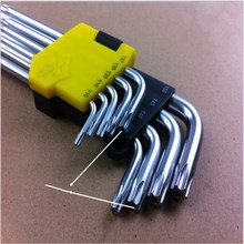 Remove The t-hexagon Socket Wrench With Set Of 9-piece Inner Six-flower Star Meter Sub-wrench