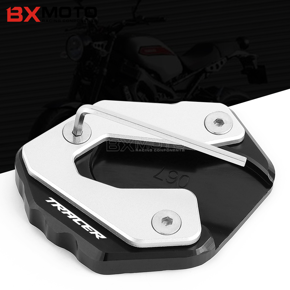 For Yamaha MT09 TRACER MT09 TRACER 2015 2016 2017 MT09 2015-2018 XSR900 2016 2017 Motorcycle CNC Kickstand Kick Stand Plate