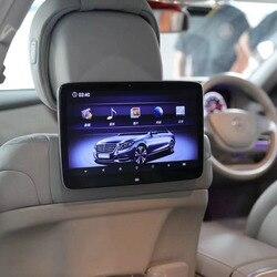 11,6 дюймовый монитор для подголовника, для Mercedes Benz S Class W222, Android 9,0, аудиоплеер, автомобильный телевизор, система для развлечения на заднем сид...