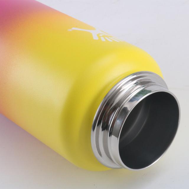 18oz/32oz/40oz Hydro Flask Water Bottle with Straw