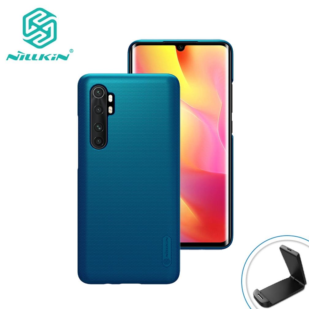 Nillkin – coque de protection Ultra-fine et rigide pour Xiaomi Mi Note 10 Lite, avec écran Super givré