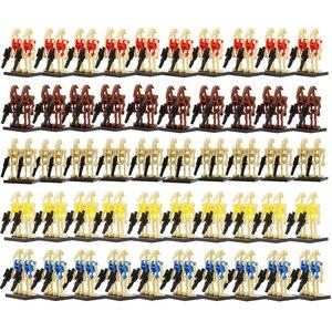 Image 5 - الجملة 100 قطعة/الوحدة الساخن معركة الروبوت أرقام نموذج مجموعة اللبنات مجموعات الطوب لعب للأطفال