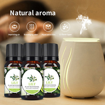 Olejki eteryczne aromaterapia 100 czyste naturalne olejki eteryczne aromaterapia dyfuzory olej zdrowy uspokajający rozpuszczalny w wodzie aromat 10ML tanie i dobre opinie CN (pochodzenie) Pure Essential Oil