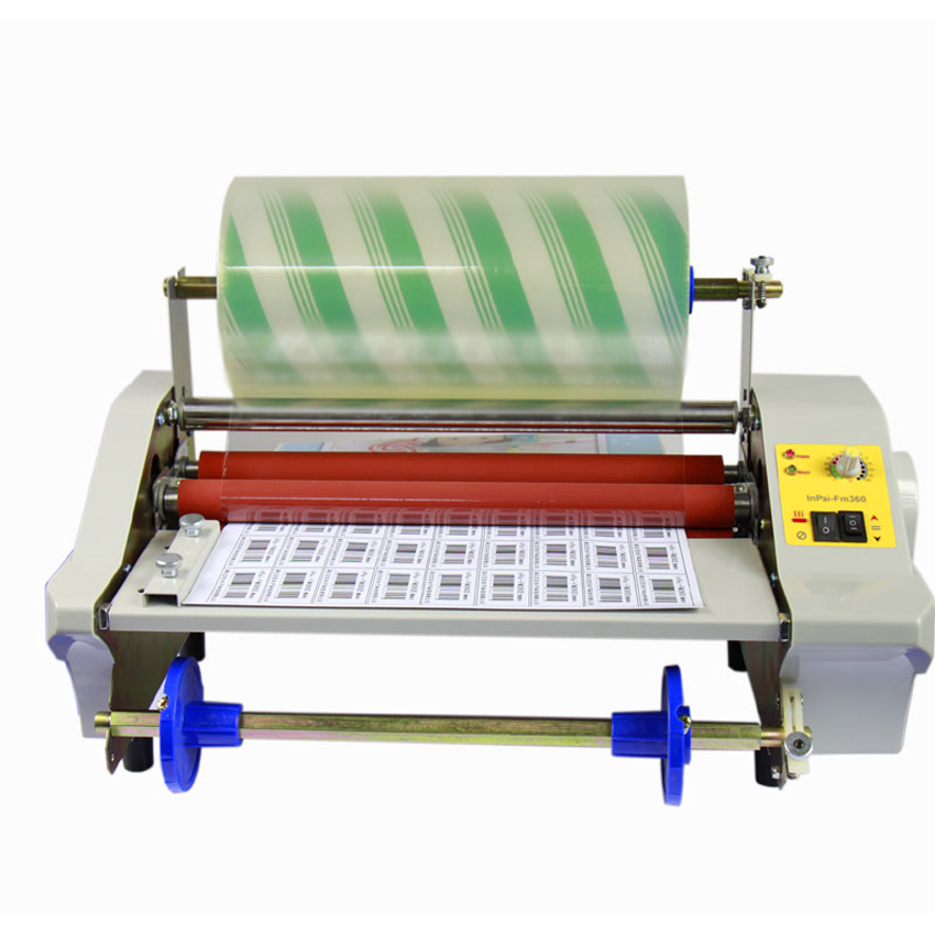 FM480 Paper Laminating Machine,Four Rollers,Worker Card,Office File Laminator.100% Guranteed Photo Laminator Sealing Width 450MM