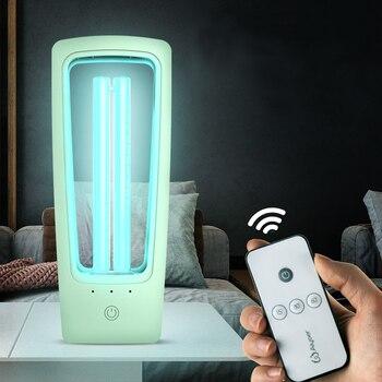 UVC Lamp Sterilizer 36W UV Sterilizer 220V Ozone Quartz Lamp Mobile Germicidal Ultraviolet Lamp Desinfection Bactericidal Light