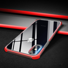 Luxury Transparent Clear Soft Silicone Ultra Thin Case On For iPhone X 8 7 6 S 6S Plus Shcokproof Apple