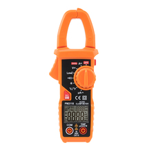 Dual Display 6000 Counts AC/DC Digital Clamp Meter with Jaw Frequency Test PM2118 victor 6056e vc6056e digital clamp meter jaw open 55mm portable design can be one handed operation