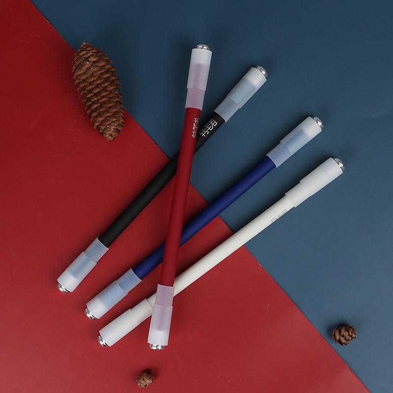 1 peça Caneta giratória de novidade Caneta esferográfica giratória de jogos para crianças, presente de alunos, brinquedos, materiais escolares, papelaria bonito
