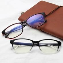 Frames Optical-Glasses-Frame Eyeglasses Spectacles Clear-Lens Transparent Women PC
