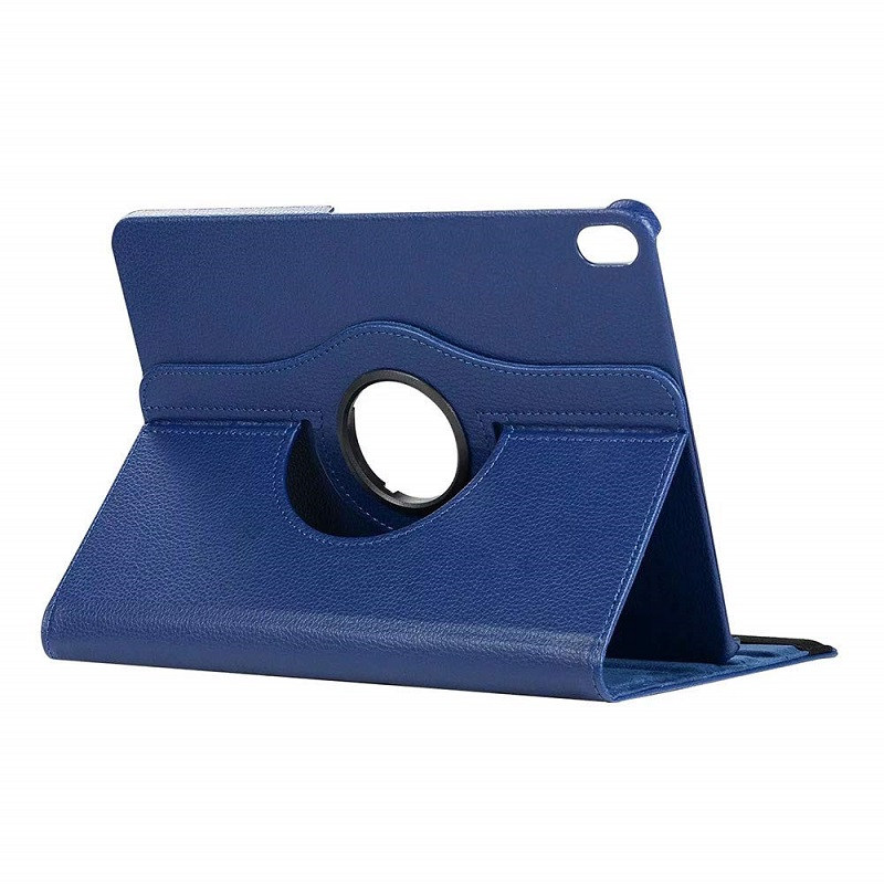 Navy Blue Navy Blue Case for Apple iPad pro 11 Case 2020 A2228 A2068 A2230 2nd 360 Degree Rotating Leather