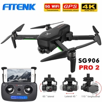 FITENK ZLRC SG906 Pro/ SG906 Pro 2 Brushless GPS Drone with 5G Wifi FPV 4K Camera Three axis Gimbal Professional Quadcopter Dron