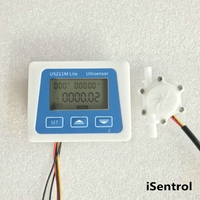 US211M Lite Digital Flow Meter 5V Flow Reader Compatible with all our hall effect water flow sensor with USL HS06PA 1L Consum| |   -
