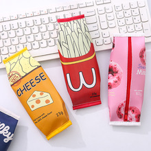 Korean creative snack pen bag simple female junior high school student small fresh and lovely stationery