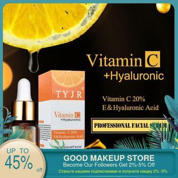 100% Pure Vitamin C Serum Liquid Freckle Removal Acne Scars Hyaluronic Acid Anti-wrinkle Vc Face Serum Fade Dark Spot Essence