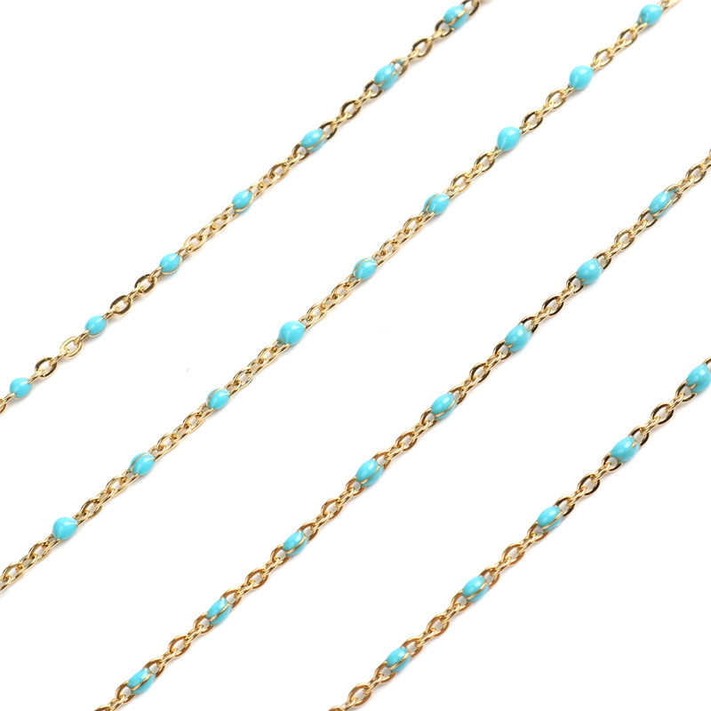 Gold Light Blue