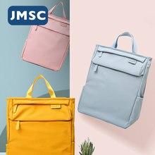 JMSC модная сумка для мам рюкзак подгузник для коляски подгузник для беременных большой емкости уход за ребенком для путешествий на открытом ...