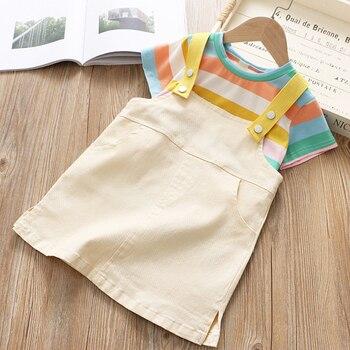 Pakaian Anak Set Musim Panas T-Shirt Tanpa Lengan  2