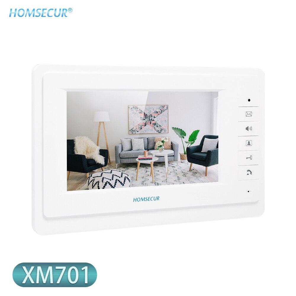 HOMSECUR XM701 7inch Indoor Monitor For Video Door Phone Intercom System